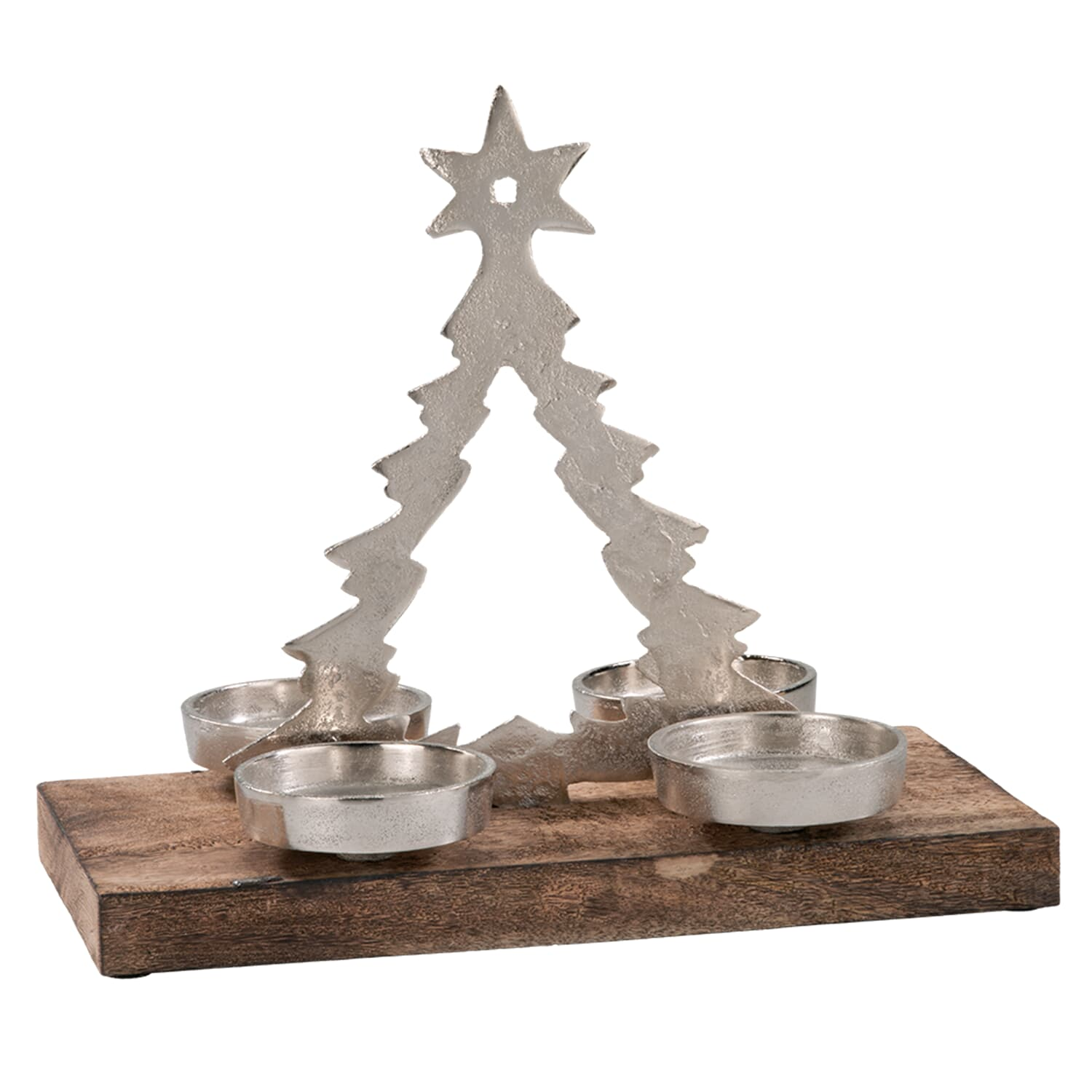Advent Candle Holder Christmas Tree