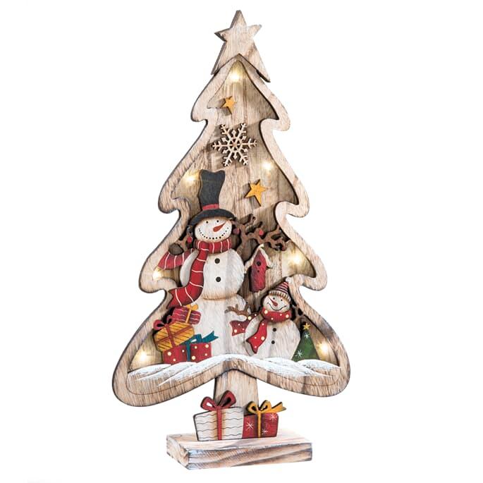 Wooden Figures for Decorating. Wooden Figures Great Tree Firurka